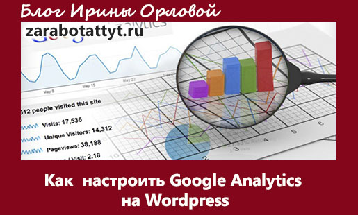 Как  настроить Google analytics на Wordpress